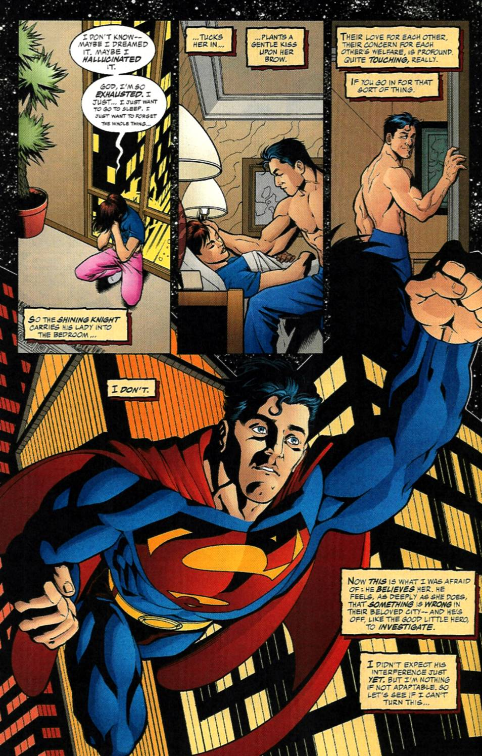 Read online Adventures of Superman (1987) comic -  Issue #585 - 13