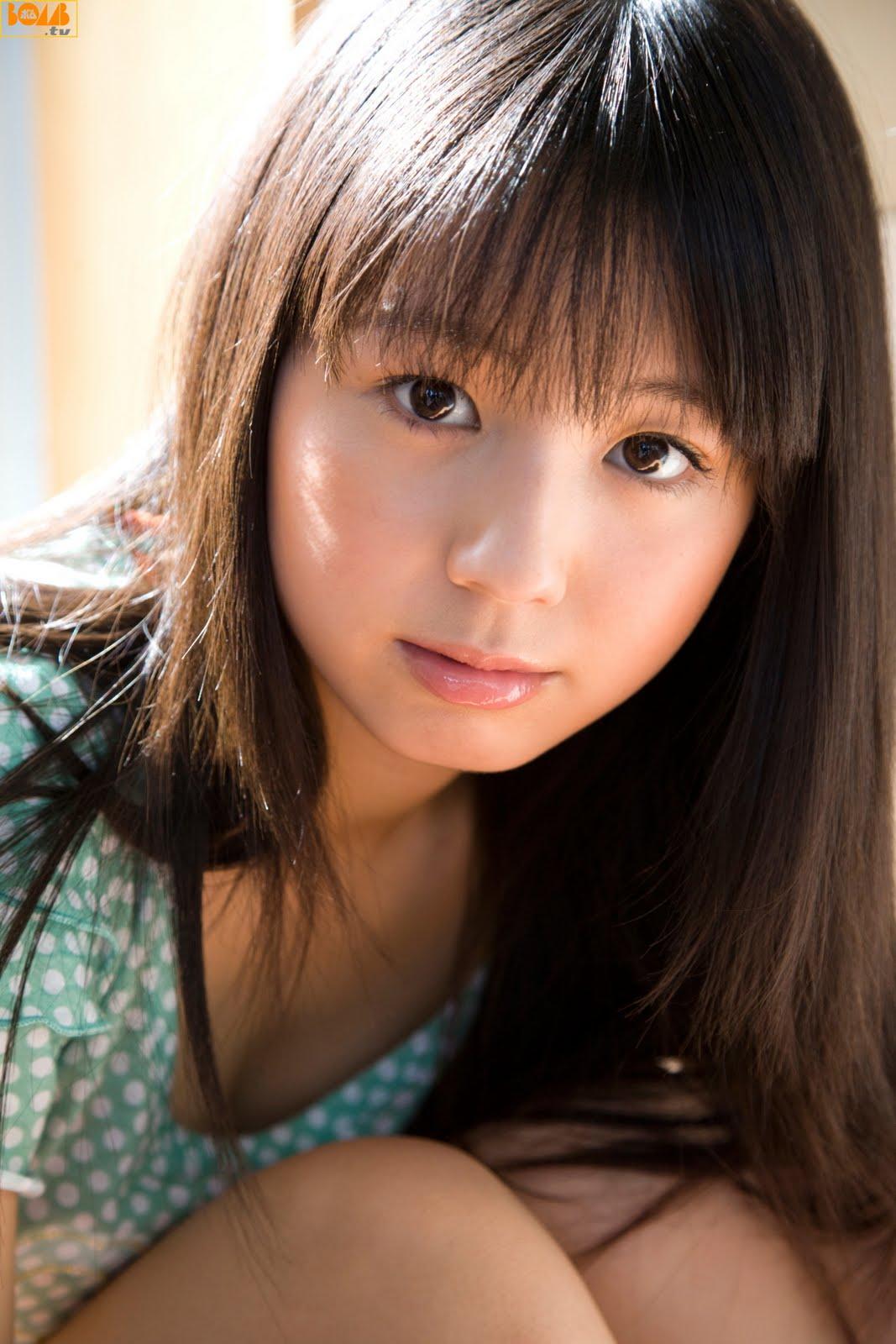 Koike Rina orange dotted   japanese girls 2011