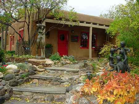 Home blog arts jardines rusticos pueblo style Decoracion jardines exteriores rusticos