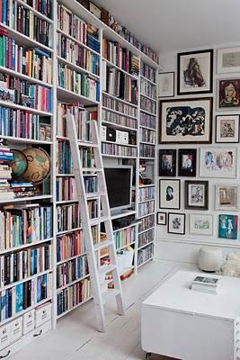 Interior sweet design estantes para libros y bibliotecas - Libros de decoracion de interiores ...