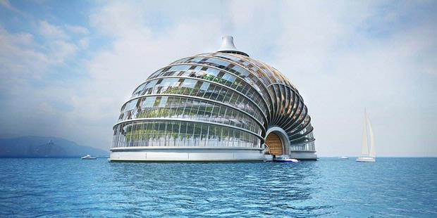 Floating Hotel Named Quot Ark Hotel Quot