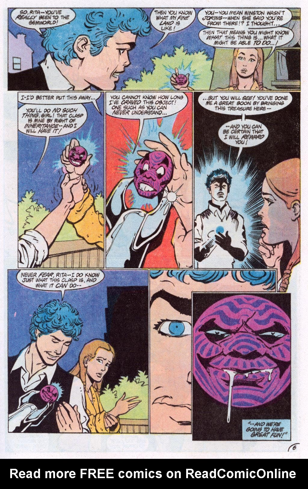 Read online Amethyst (1985) comic -  Issue #10 - 9