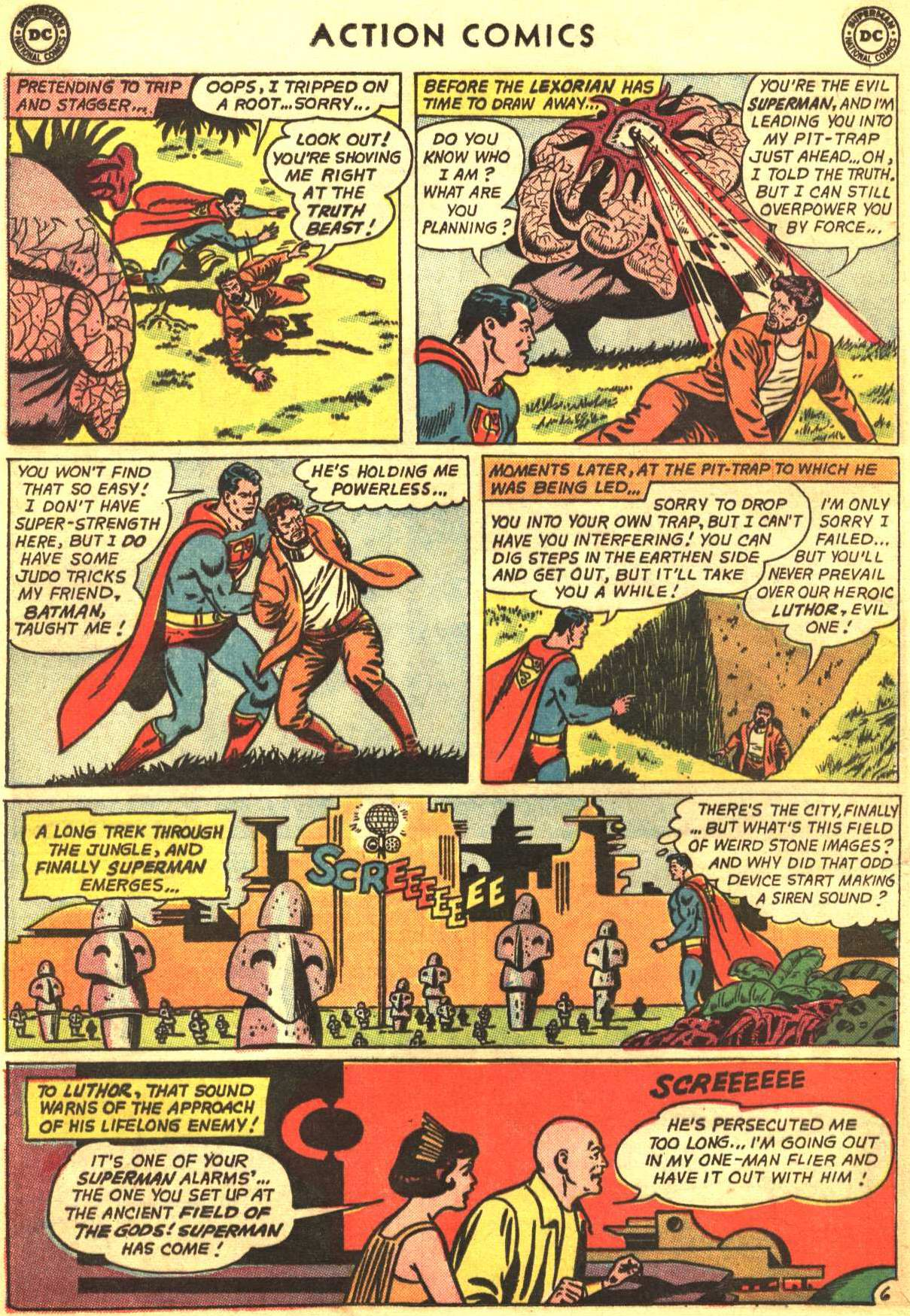 Read online Action Comics (1938) comic -  Issue #318 - 7