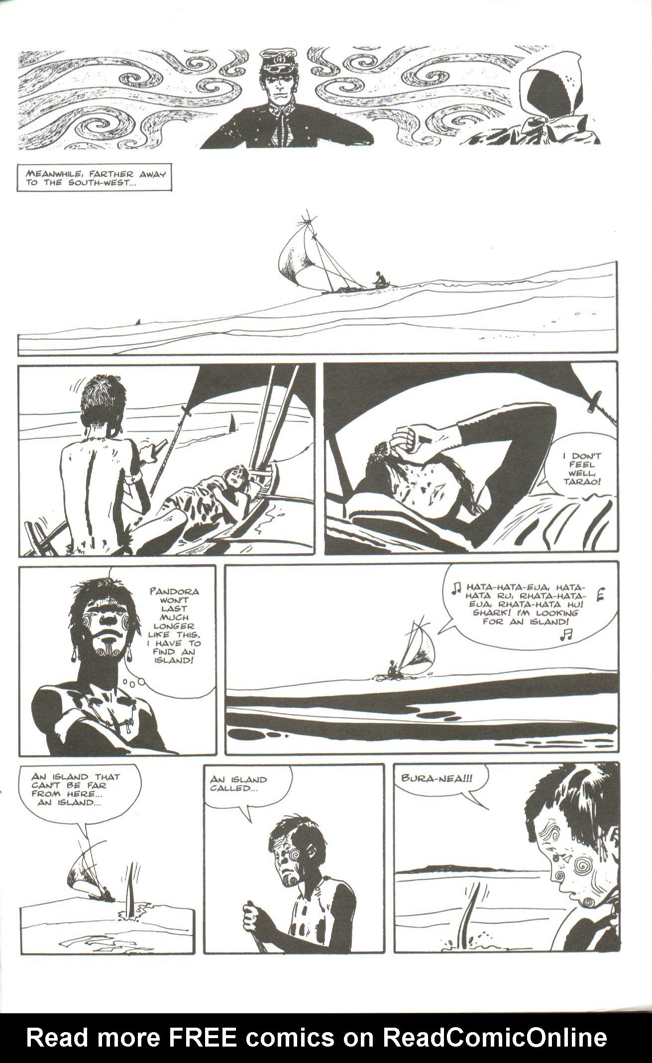 Read online Corto Maltese: Ballad of the Salt Sea comic -  Issue #5 - 25