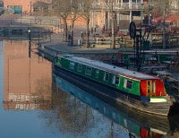 A Nottingham canal scene