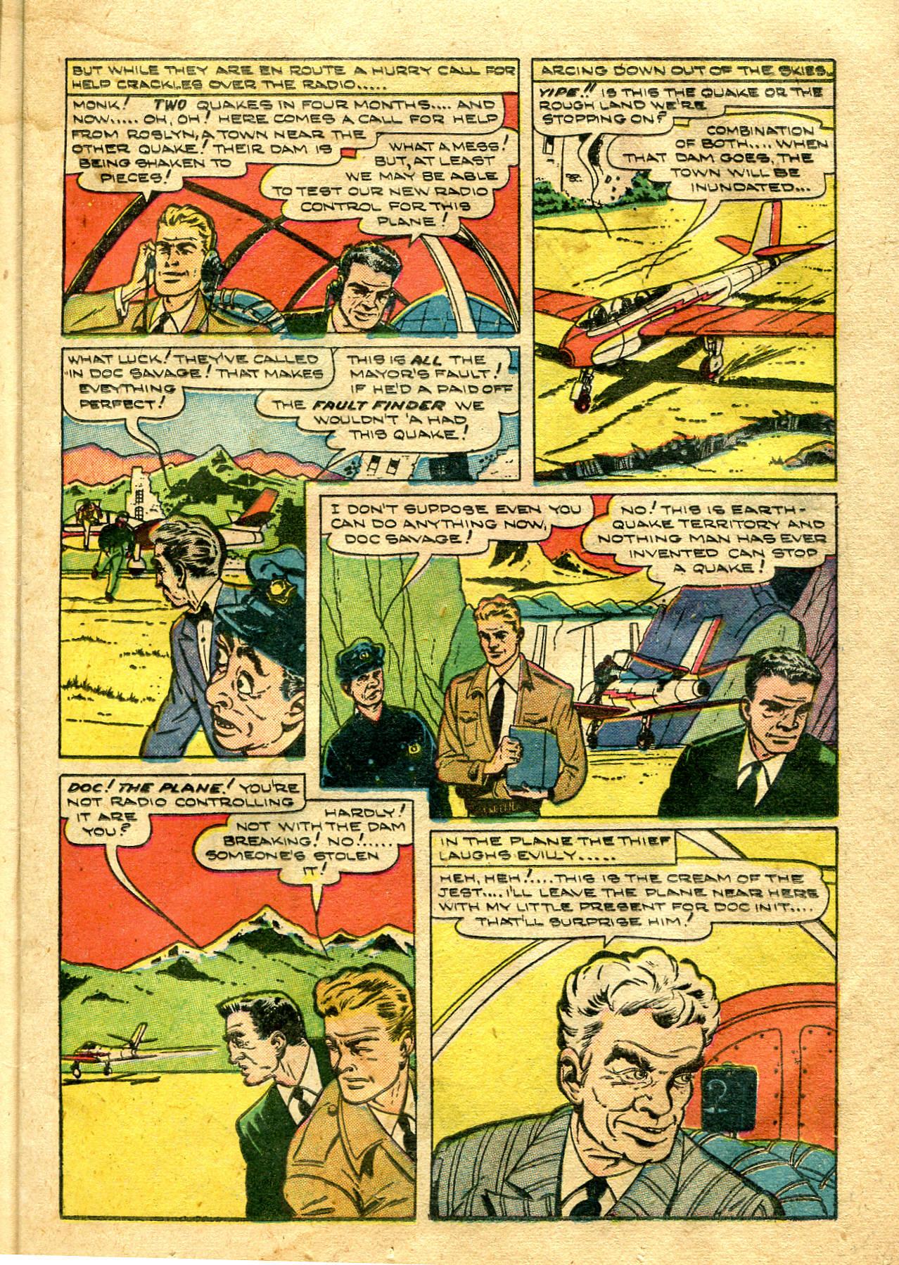 Read online Shadow Comics comic -  Issue #99 - 21