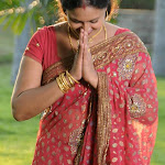 Raksha telugu actress in saree stills