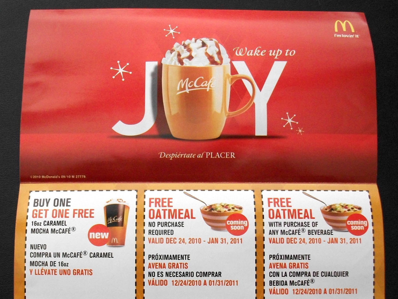 Get mcdonalds coupons in the mail