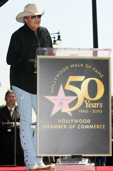Alan Jackson Receives Star on Hollywood Walk of Fame – in ...