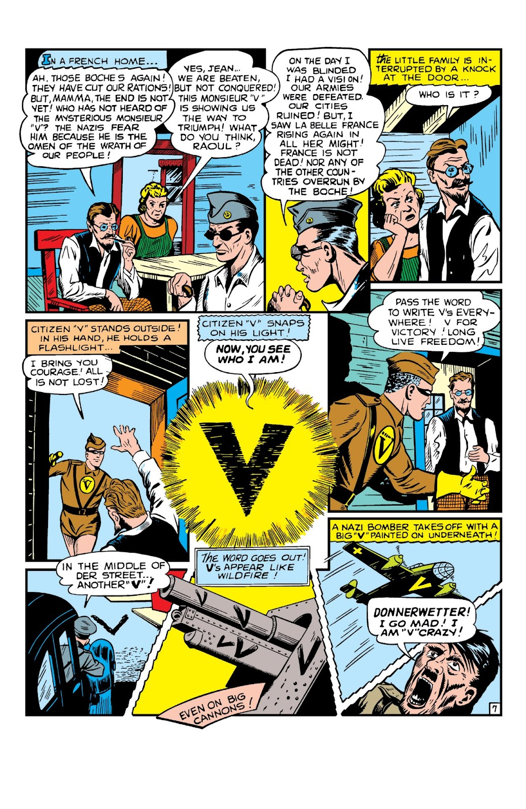 Daring Mystery Comics issue 8 - Page 9