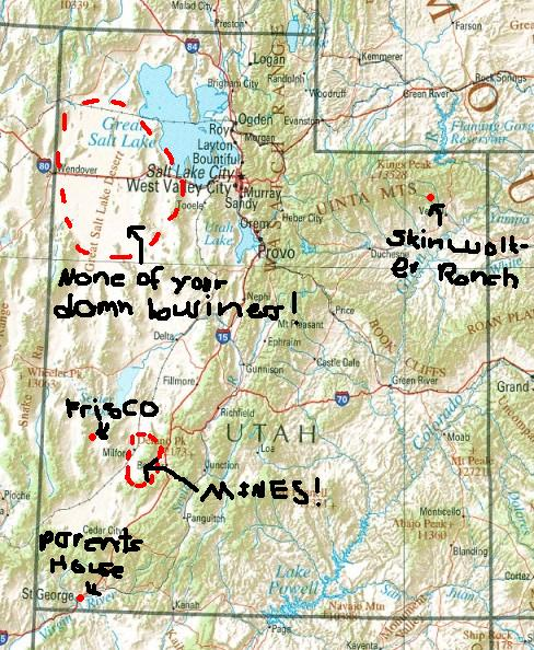 Milford Utah Map.A Short History Of What S Important Mines Of Central Utah And You