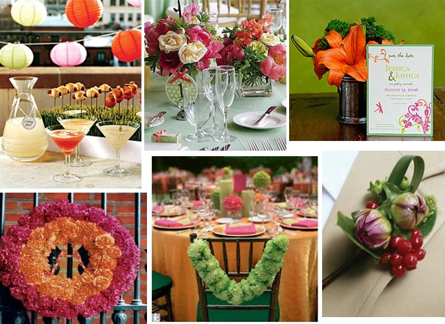 Pink+yellow+green+and+yellow+wedding+cop