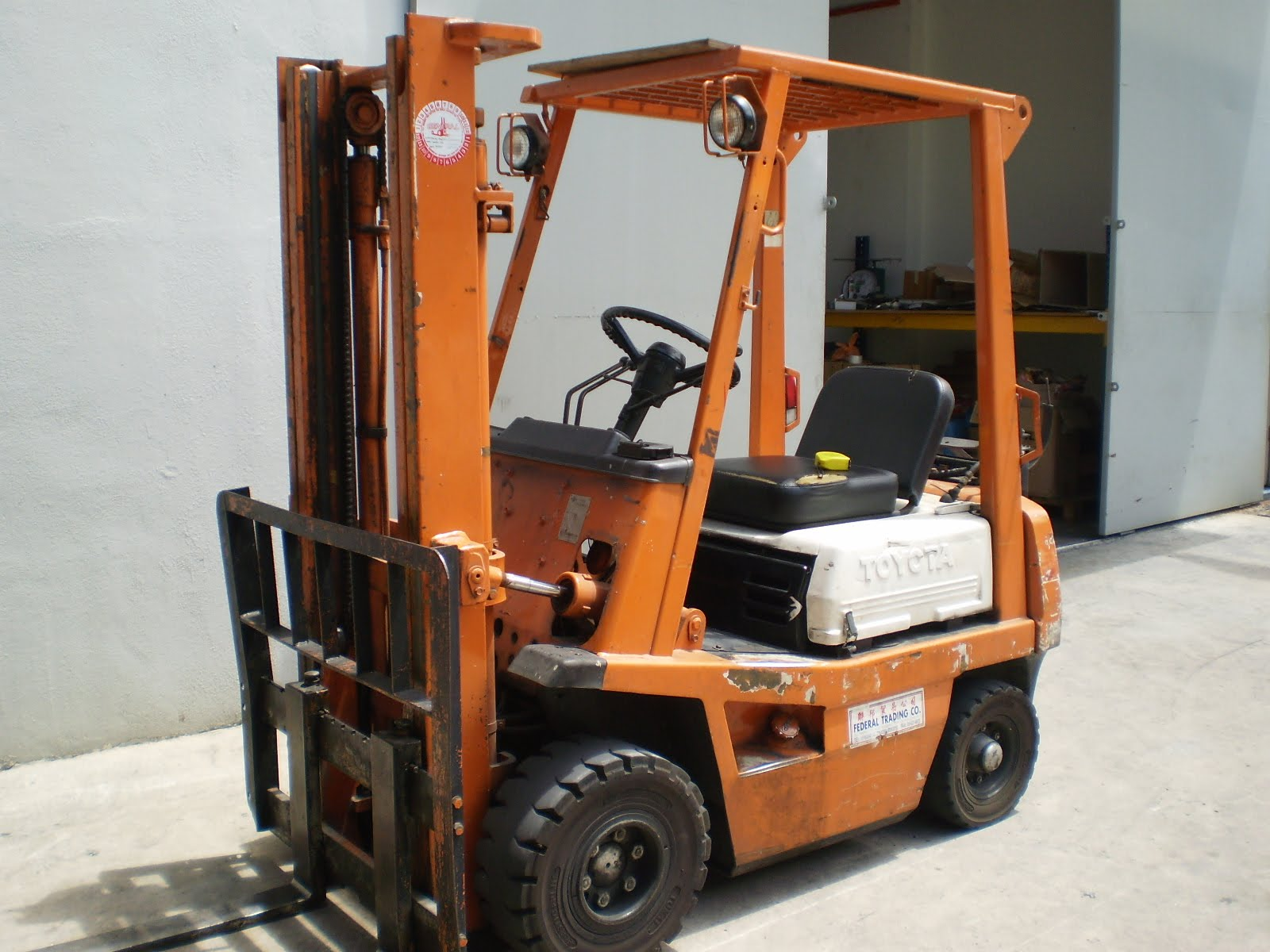 New and Used Forklift: Used Toyota Forklift