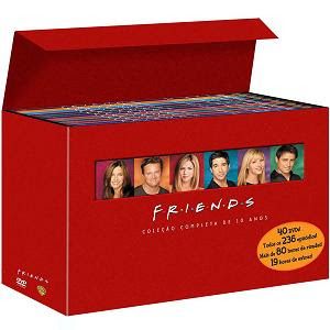 kit cinema serie completa friends