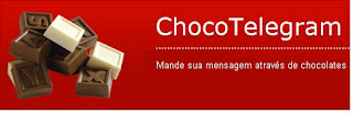 telegrama de chocolate