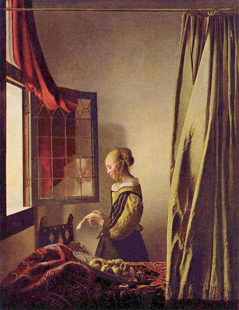 Resultado de imagen de Lectora en la ventana (1659):