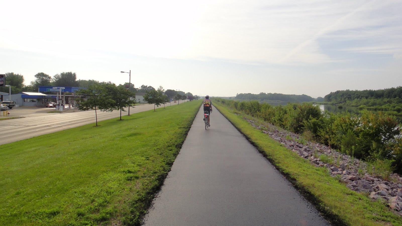 Bike Across America: Portage, WI To Fond Du Loc, WI