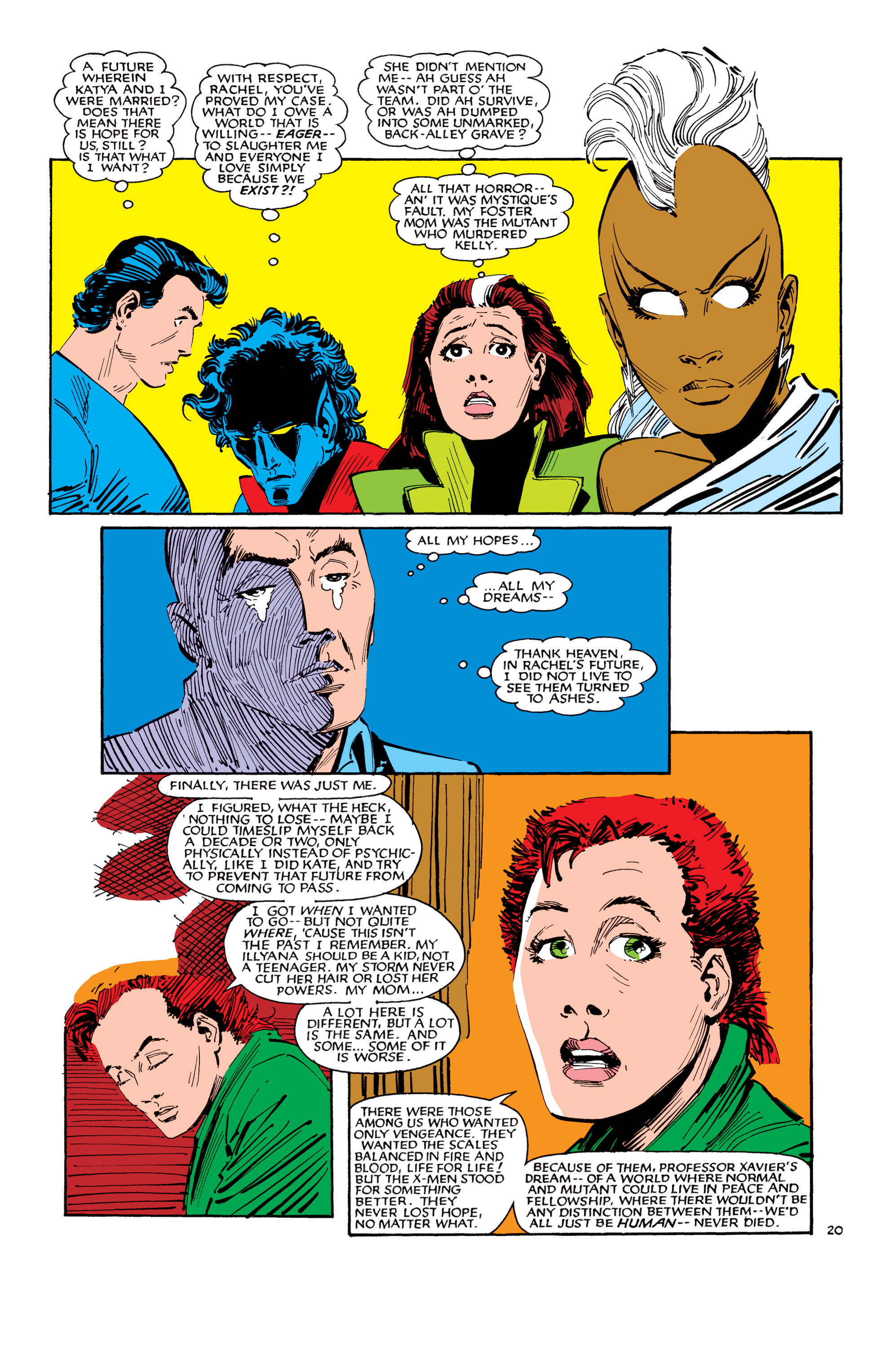 Read online Uncanny X-Men (1963) comic -  Issue #188 - 21