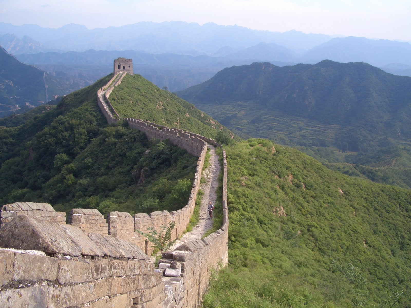 BRICK PROJECT: Day 3: Great Wall of China