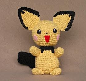 Les petits Pokémons en crochet de Kamiette, la mignonnerie du jour | 262x280