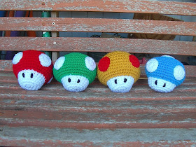 Crochet Mushroom House Lots Of Free Patterns   The WHOot   210x280