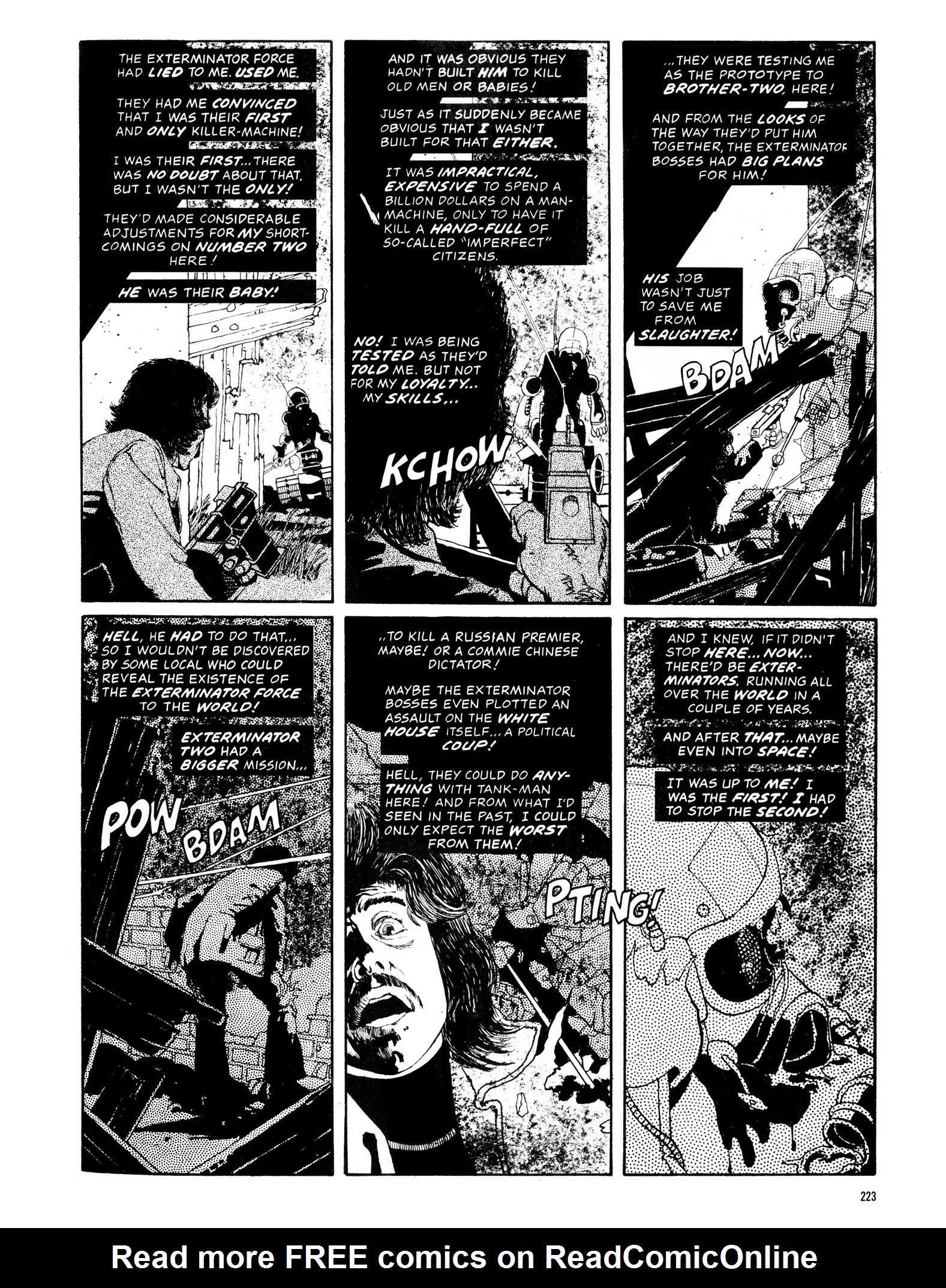 Read online Eerie Archives comic -  Issue # TPB 13 - 224