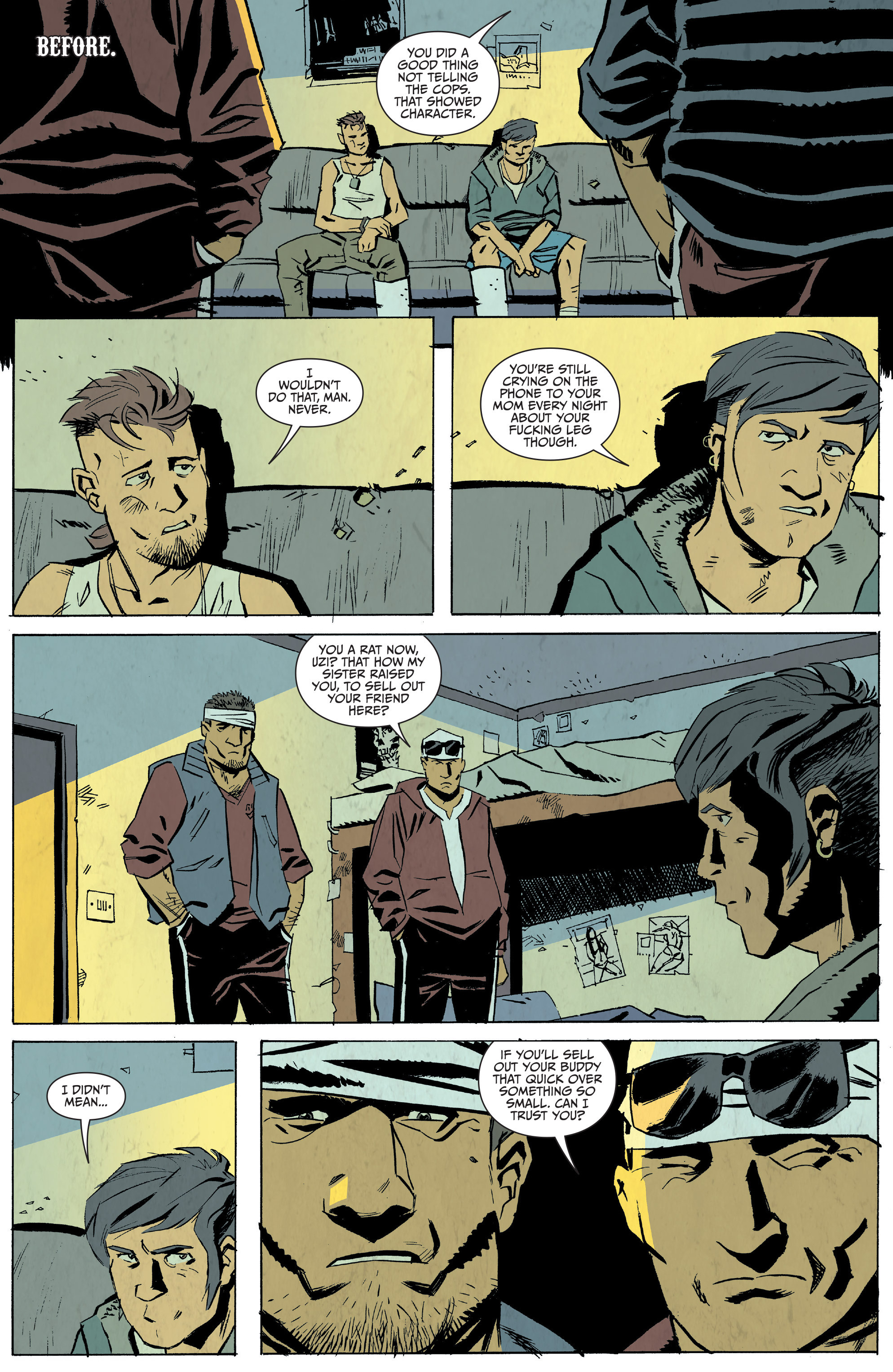 Read online Sons of Anarchy: Redwood Original comic -  Issue #5 - 3