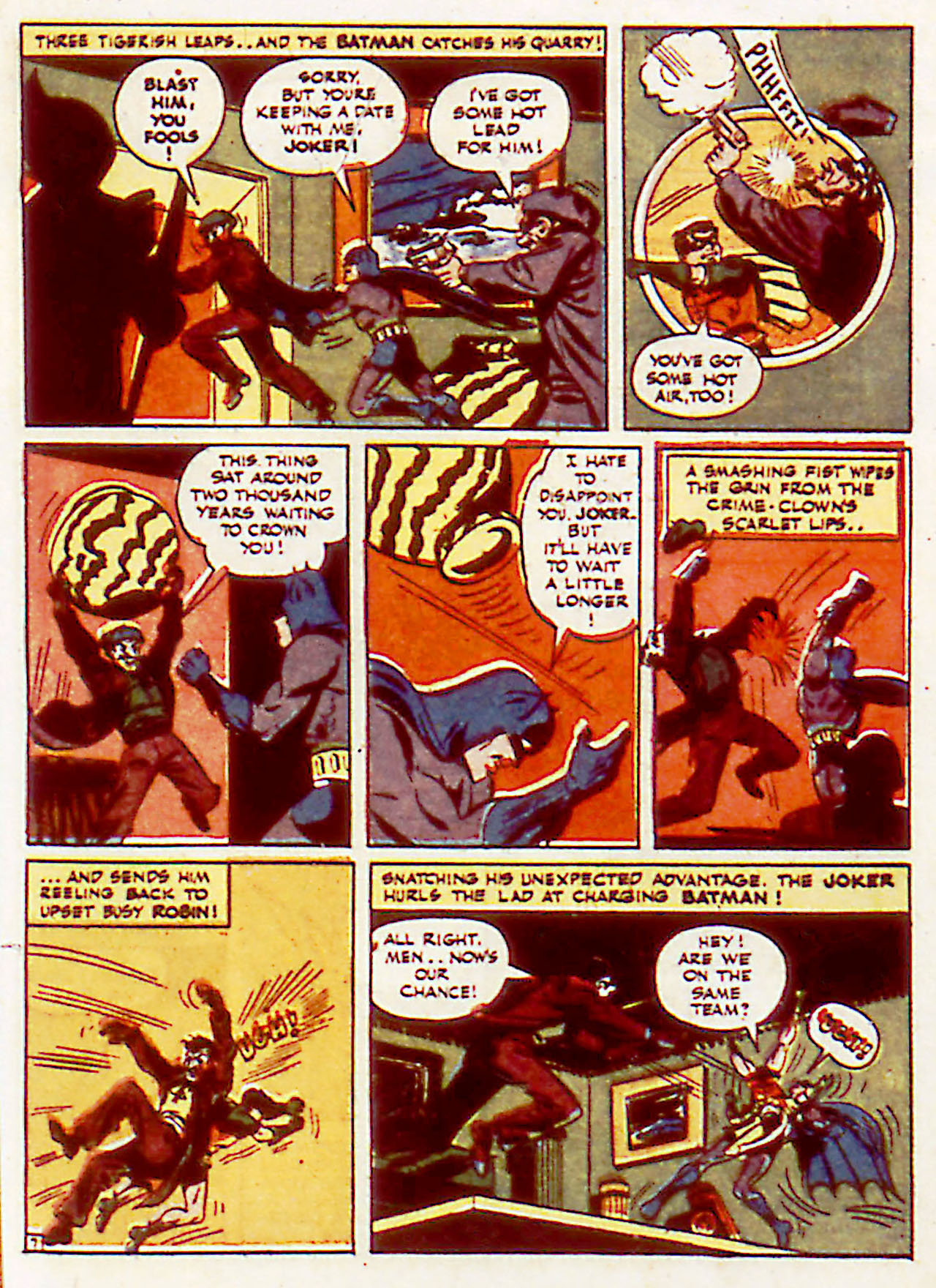 Read online Detective Comics (1937) comic -  Issue #71 - 9