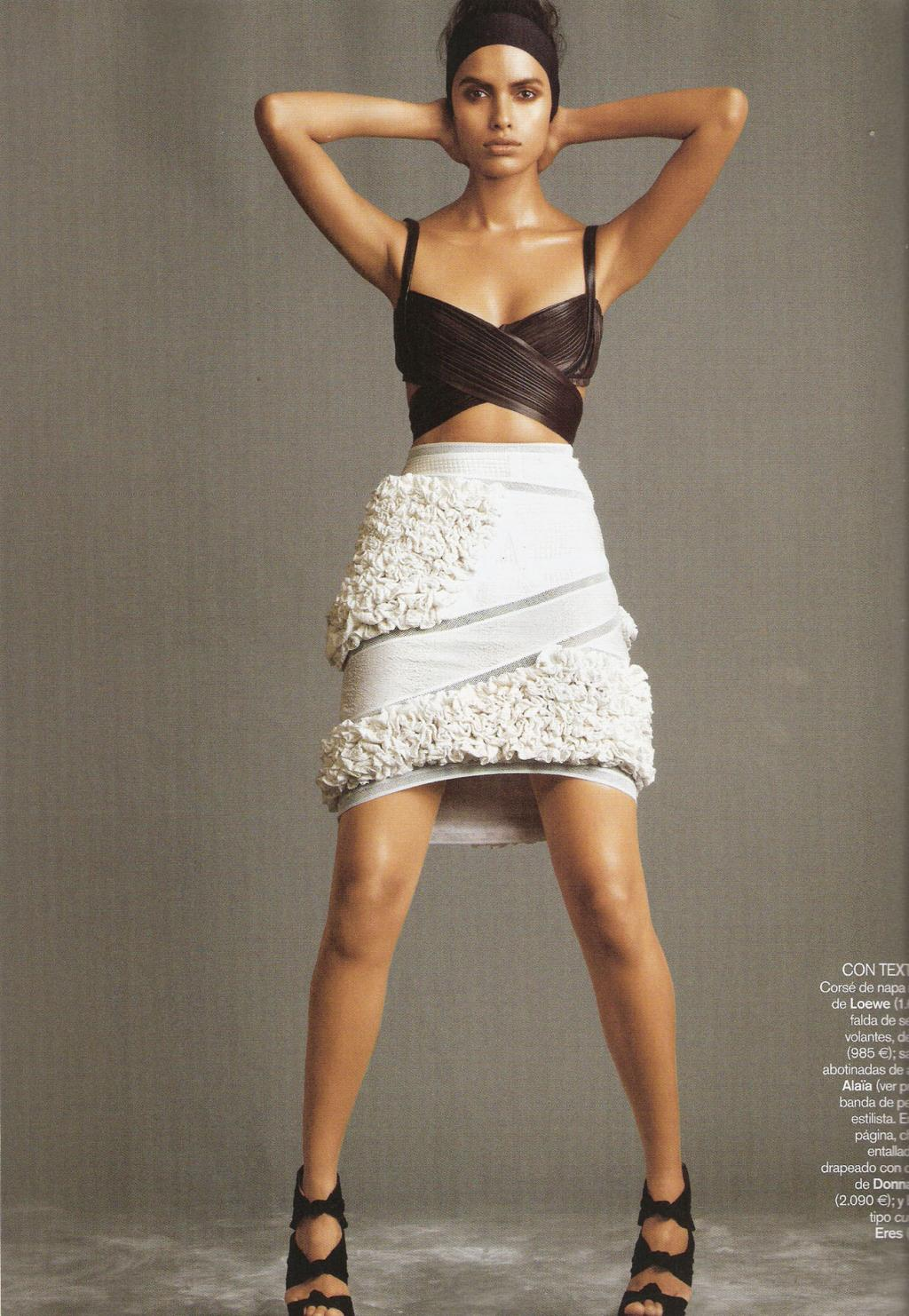 asian models blog  lakshmi menon editorial for vogue
