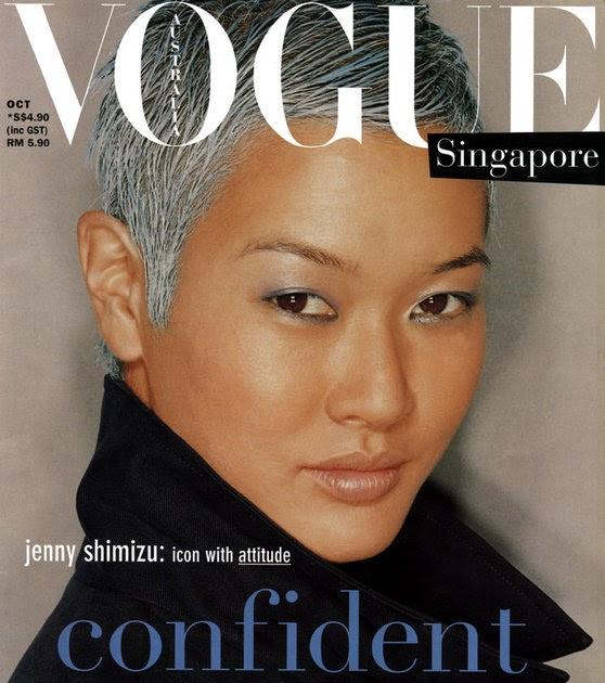 Image result for jenny shimizu vogue singapore
