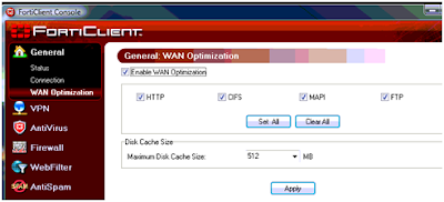 Kjetil Petterssons blog: Wan optimization on a FortiGate 111c