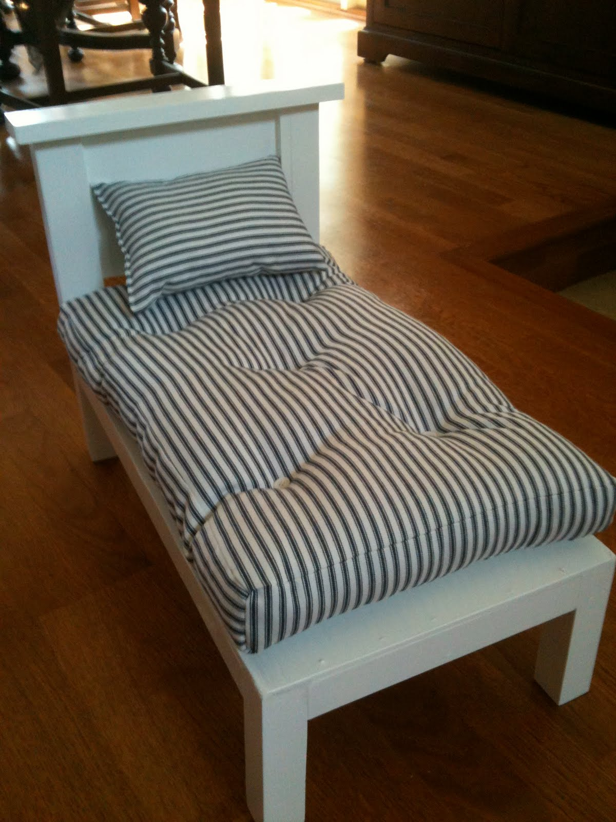Made Pieces For Reese 18 Quot Doll Doll Bed