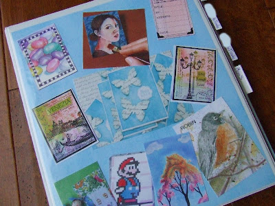 Waltzing Matilda Artist Trading Cards