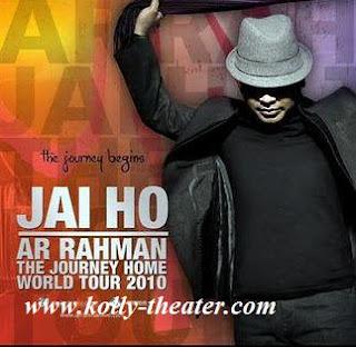 A R Rahman in world tour