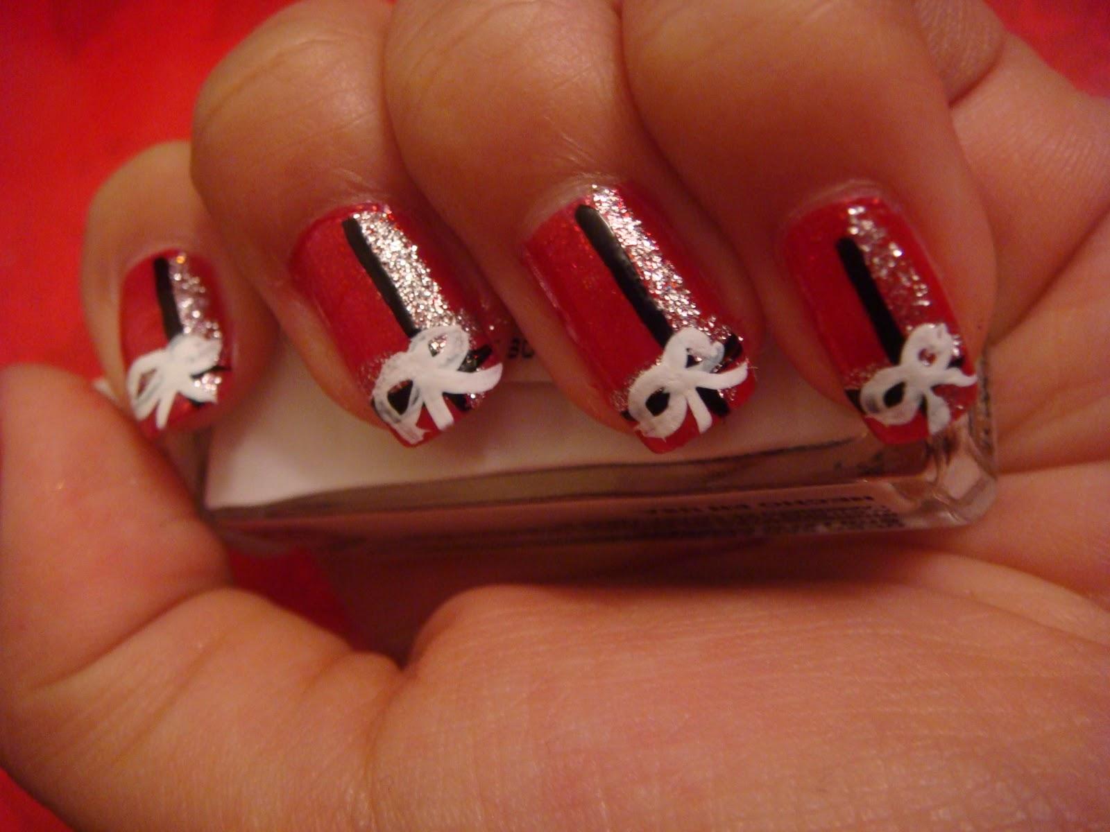 Present Nails | nails | Pinterest | Nails, Christmas Nails ...