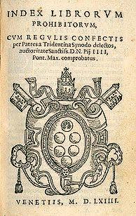Index Librorvm Prohibitorvm