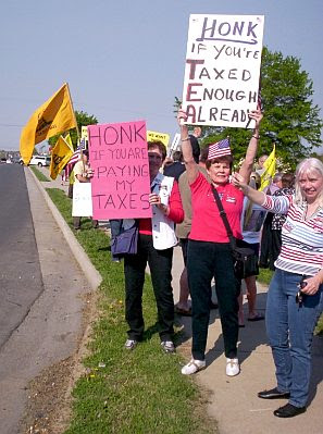 Tea Party Tax Day 2010 #1