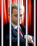 Geert Wilders behind bars