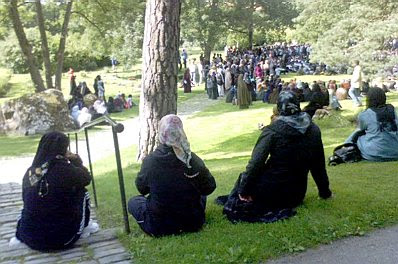 Rinkeby funeral