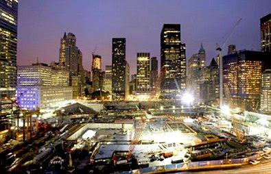 Ground Zero, September 11, 2009