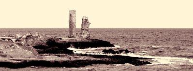Seaside ruins