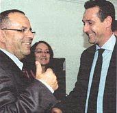 Ayoub Kara and Heinz-Christian Strache