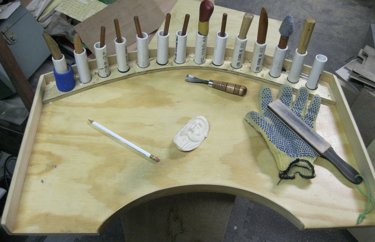 ... Sunday Woodcarver Blog: Improved Carvers Lap Table - Tutorial Part 1