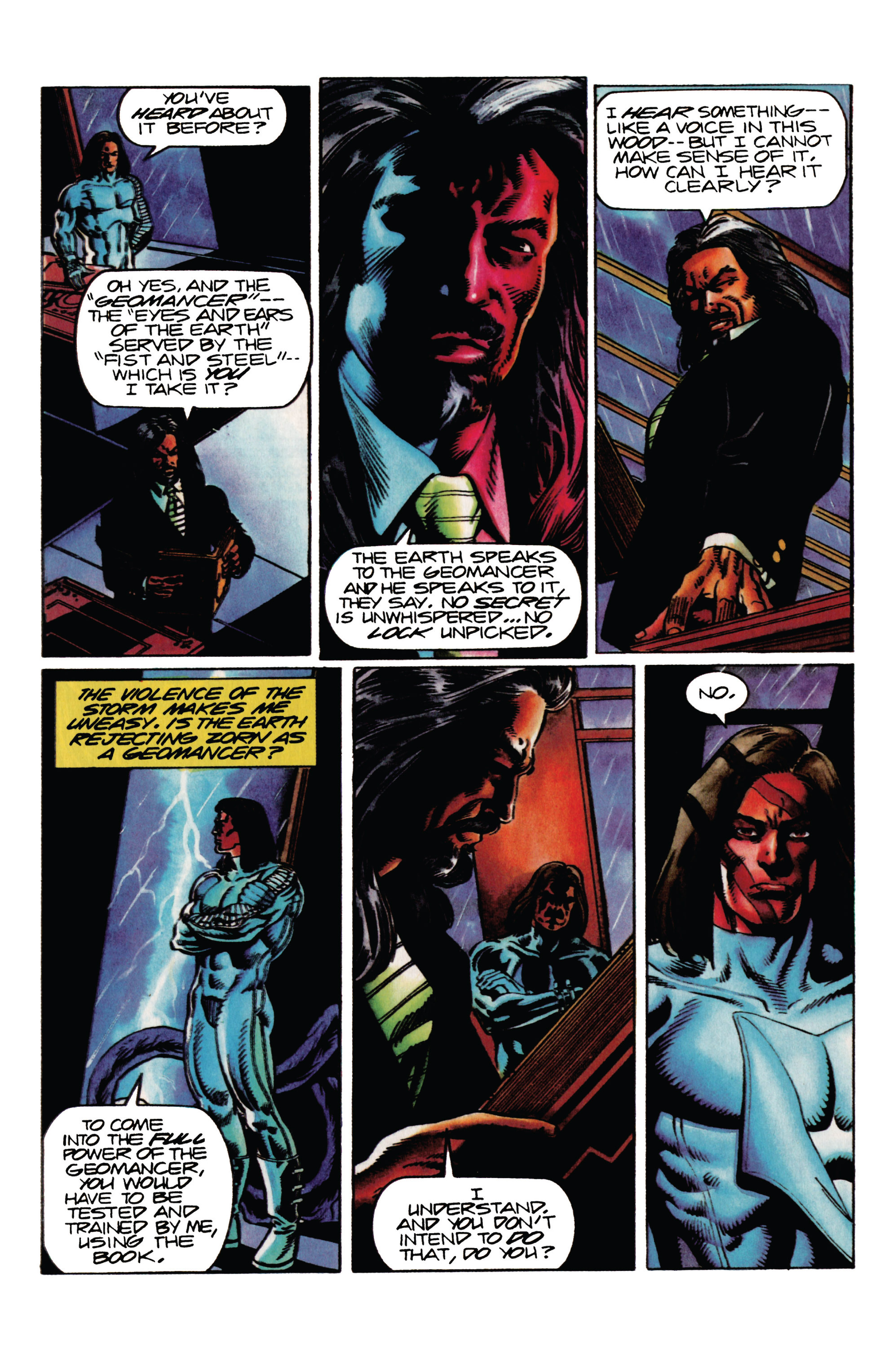 Read online Eternal Warrior (1992) comic -  Issue #27 - 14