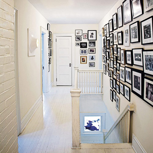 Acute Designs: Black and White Photo Wall