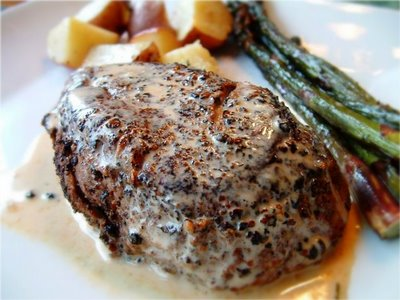 Filet Of Beef Au Poivre Is A Dinner I Posted About 1 2 Years Ago My How Time Flies The Cognac Cream Sauce Was Easy To Make And So Delicious