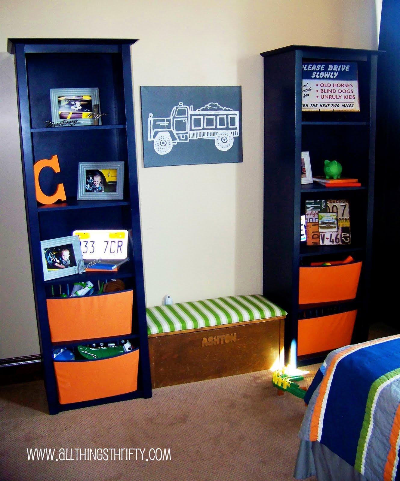 Little boys room bedroom decor!