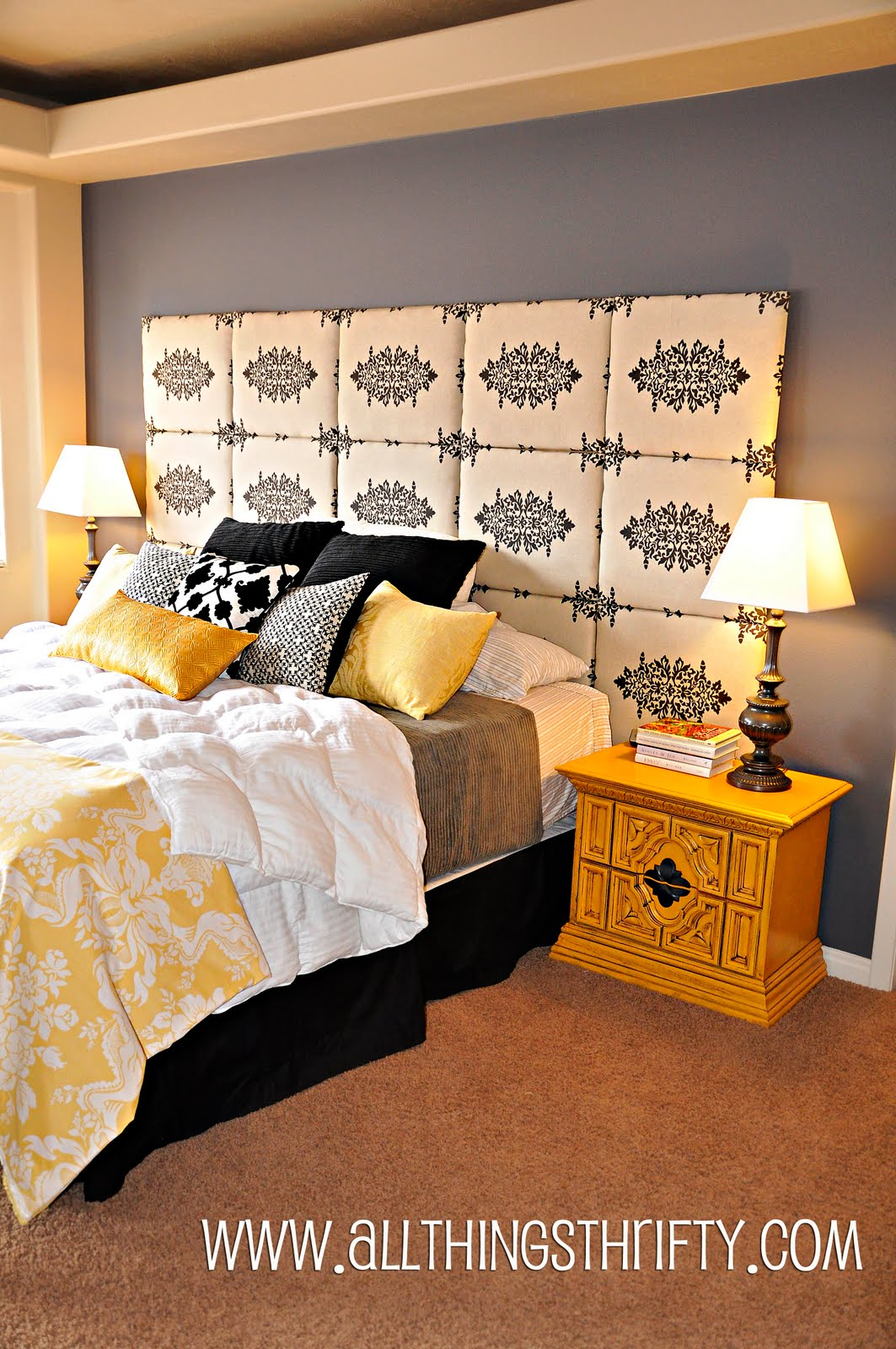 Yellow Furniture For Copy Cat Challenge