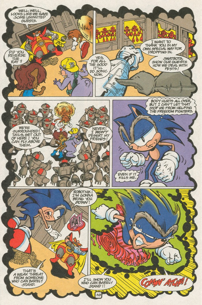 Read online Sonic Super Special comic -  Issue #8 - Giant special - 21