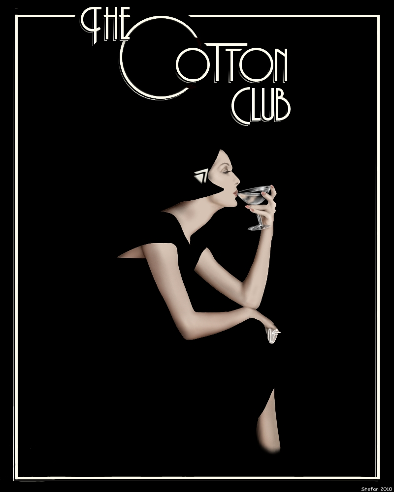 Cotton Club Poster: The Cotton Club Was A New York City